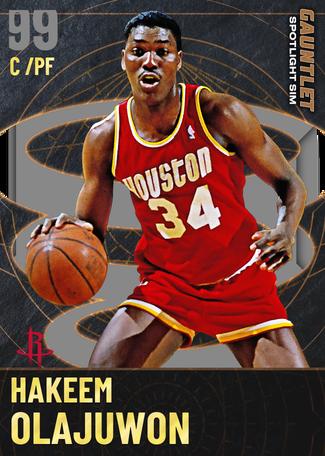 '94 Hakeem Olajuwon dark_matter card