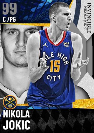 Nikola Jokic dark_matter card