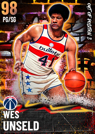 '81 Wes Unseld opal card