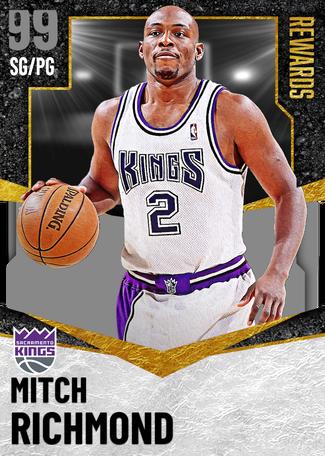 '02 Mitch Richmond dark_matter card