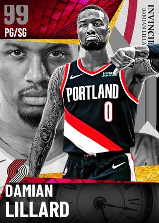 Damian Lillard dark_matter card