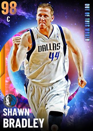 '05 Shawn Bradley opal card