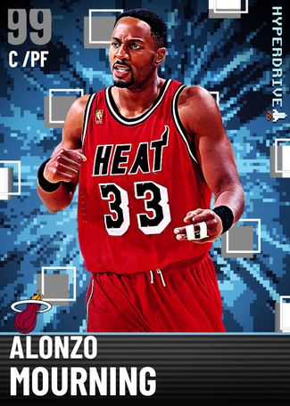 '00 Alonzo Mourning dark_matter card
