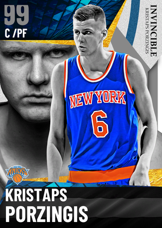 Kristaps Porzingis dark_matter card