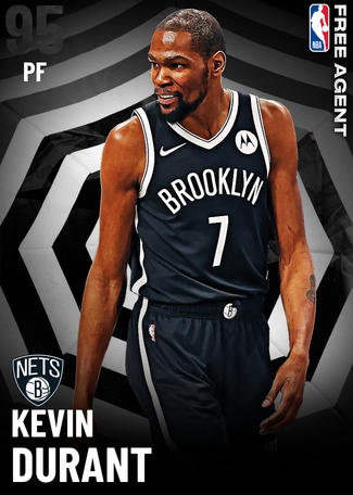 Kevin Durant onyx card