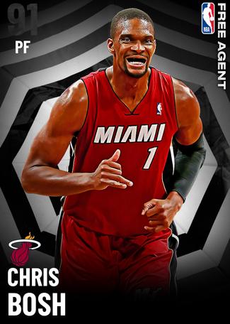 '12 Chris Bosh onyx card