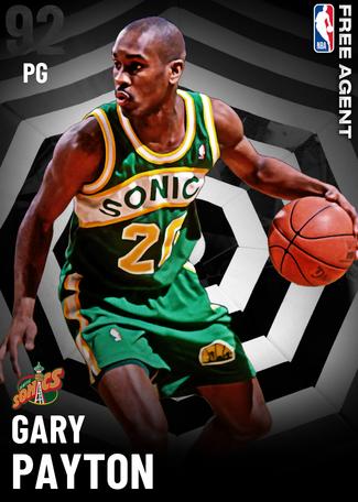 '96 Gary Payton onyx card