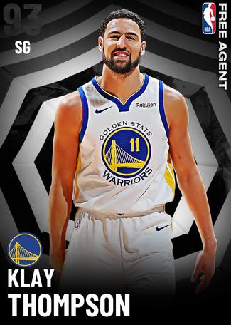 Klay Thompson onyx card