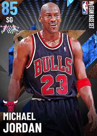 '95 Michael Jordan sapphire card