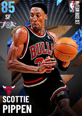 '95 Scottie Pippen sapphire card