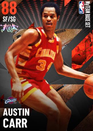 '81 Austin Carr ruby card