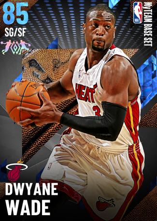 '04 Dwyane Wade sapphire card
