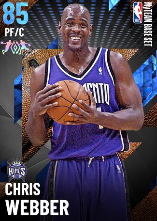 '08 Chris Webber sapphire card