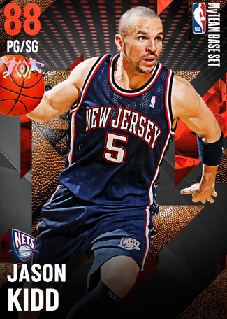 '13 Jason Kidd ruby card