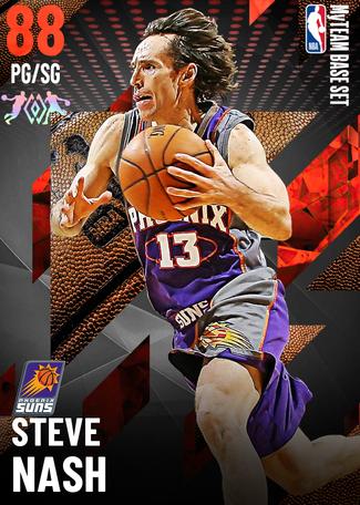 '05 Steve Nash ruby card
