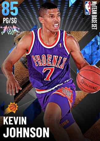 '90 Kevin Johnson sapphire card
