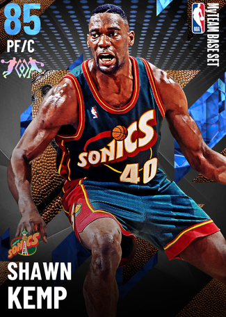 '94 Shawn Kemp sapphire card