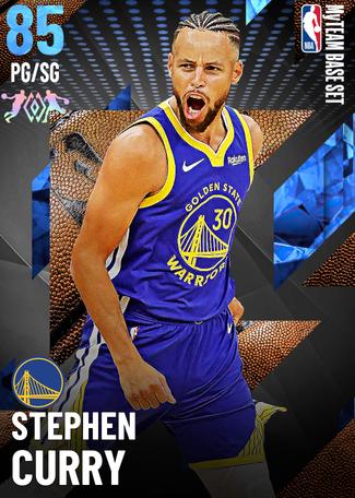 Stephen Curry sapphire card