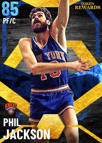 '72 Phil Jackson sapphire card