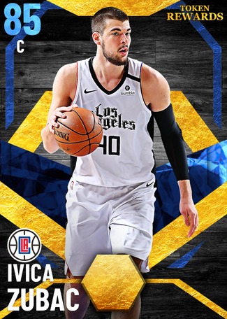 Ivica Zubac sapphire card