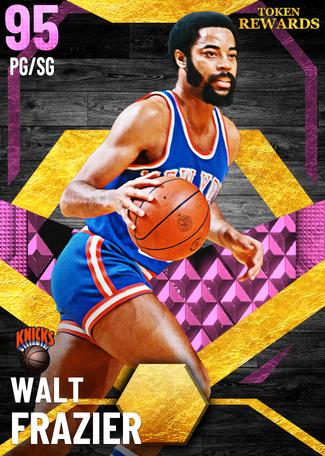 '72 Walt Frazier pinkdiamond card