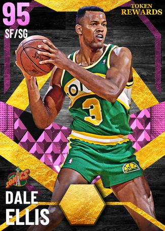 '00 Dale Ellis pinkdiamond card