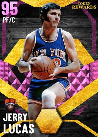 '74 Jerry Lucas pinkdiamond card