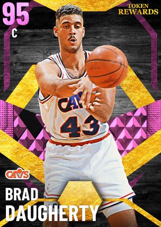 '92 Brad Daugherty pinkdiamond card
