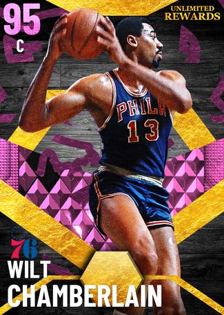 '66 Wilt Chamberlain pinkdiamond card