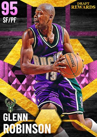 '08 Glenn Robinson pinkdiamond card