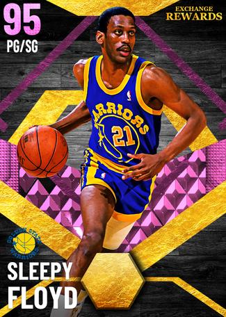 '95 Sleepy Floyd pinkdiamond card