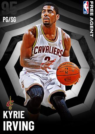 Kyrie Irving onyx card