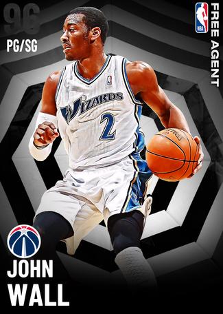 '19 John Wall onyx card