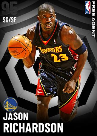'01 Jason Richardson onyx card