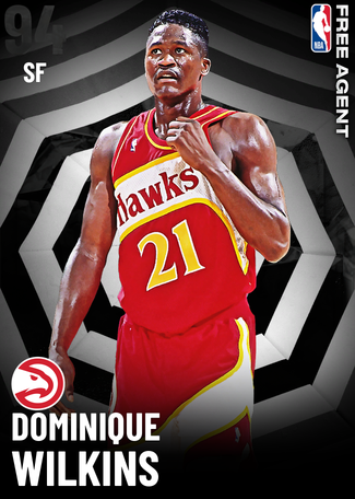 '86 Dominique Wilkins onyx card