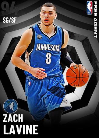 Zach LaVine onyx card