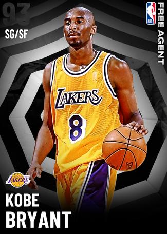 Kobe Bryant onyx card