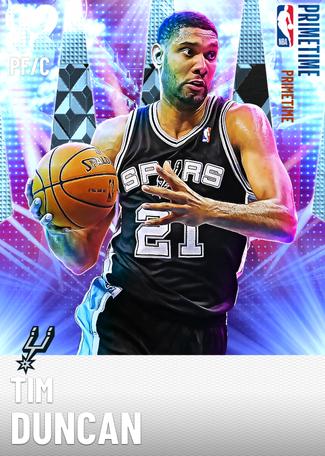 '02 Tim Duncan diamond card
