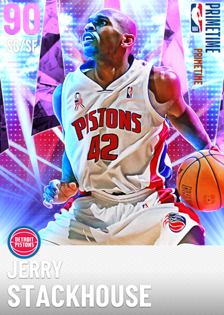'13 Jerry Stackhouse amethyst card